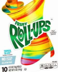 Vegan/Vegetarian Fruit Roll Ups