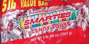 Smarties Vegan Candy Rockets