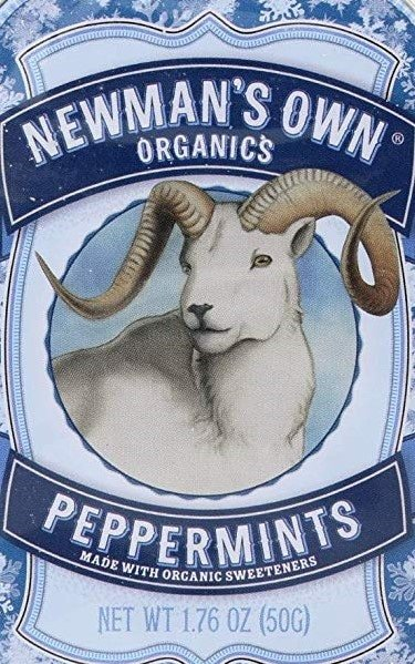 Newman's Own Vegan Mints