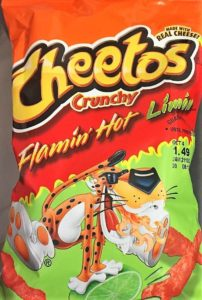 Flamin' Hot Cheetos Lime Bag