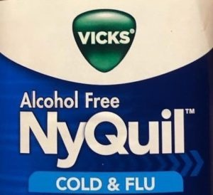 Nyquil Bottle Logo