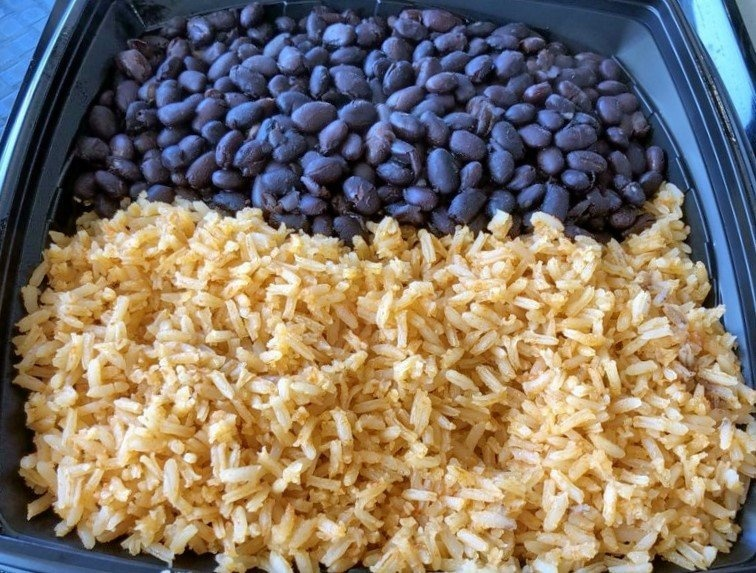 Baja Fresh Vegan Beans and Rice