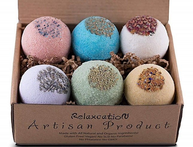 Relaxcation Bath Bombs Vegan