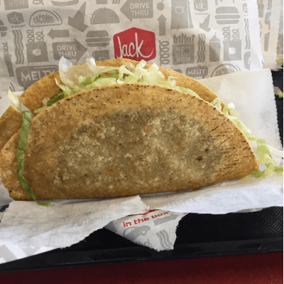 Jack In The Box Tacos Non-Vegan