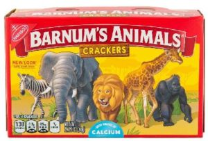 Nabisco Barnum's Animal Crackers Box