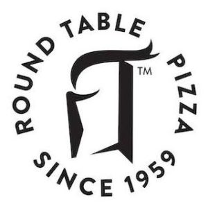 Round Table Pizza Logo Vegan Options