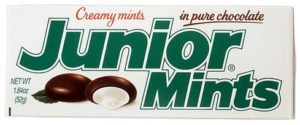 Junior Mints Small box Non-Vegan