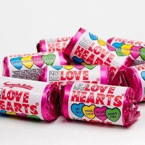 Love Hearts Vegan Candy