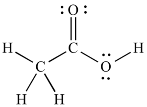 acetic acid (e260) chemical structure