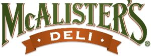 McAlister's Deli Vegan Options Logo