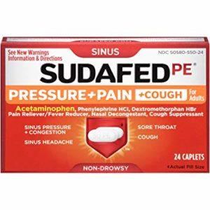 Sudafed Vegan Sinus Relief